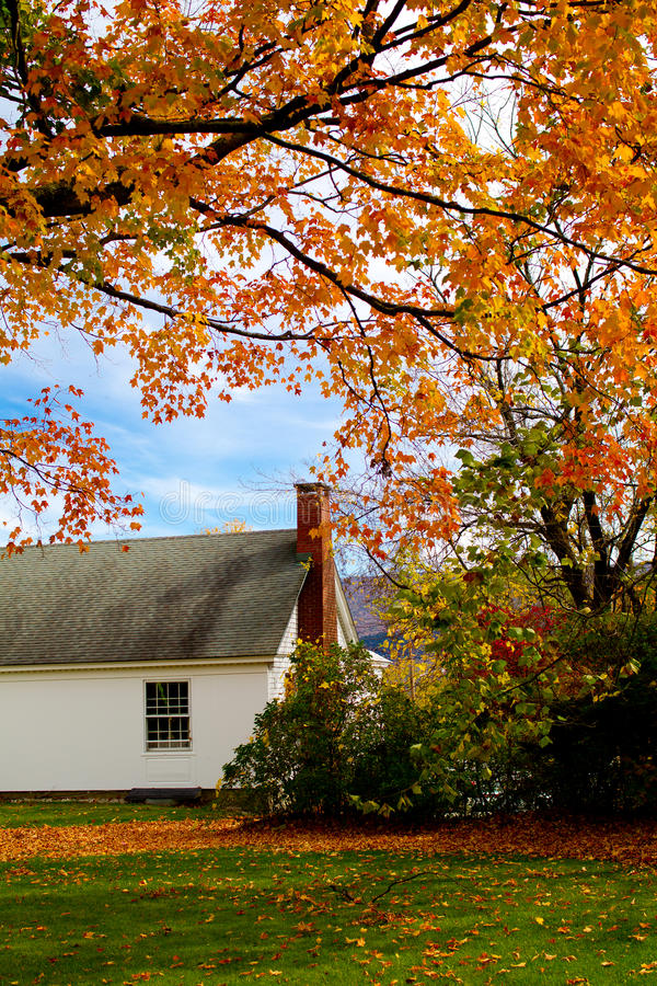 Vermont Fall royalty free stock photos