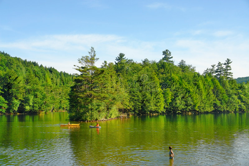 Vermont Lake stock images