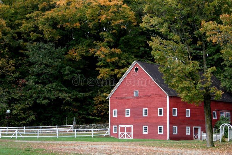 Vermont-Stall lizenzfreies stockbild