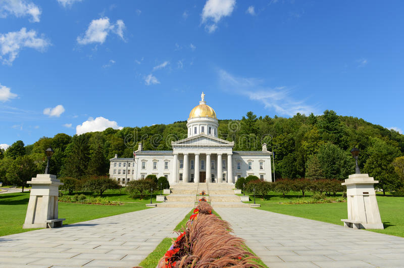 Vermont stanu dom, Montpelier obraz royalty free