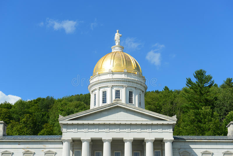 Vermont stanu dom, Montpelier fotografia royalty free
