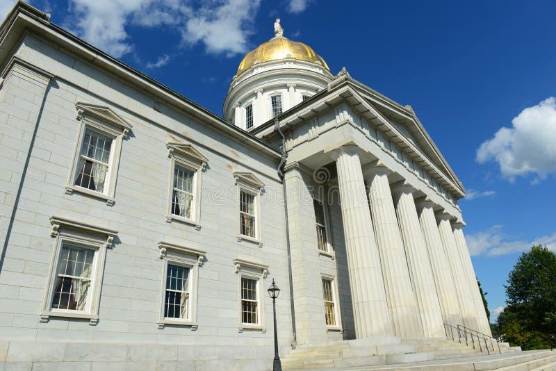 Vermont stanu dom, Montpelier zdjęcia stock