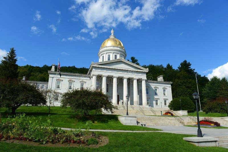 Vermont stanu dom, Montpelier zdjęcie stock