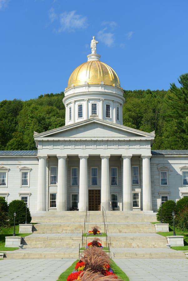 Vermont stanu dom, Montpelier obraz stock