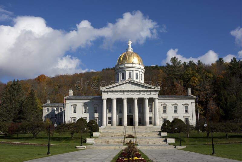 Vermont stanu domu Kapitałowy budynek obrazy royalty free