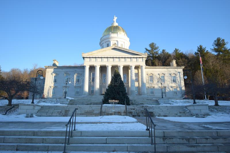 Vermont state capital building. Montpelier, Vermont state capital building stock images