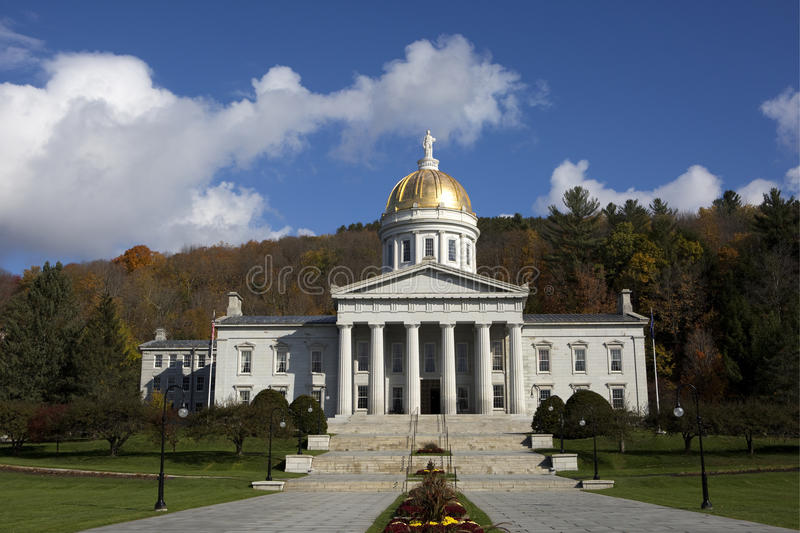 Vermont State House Capital Building royalty free stock images