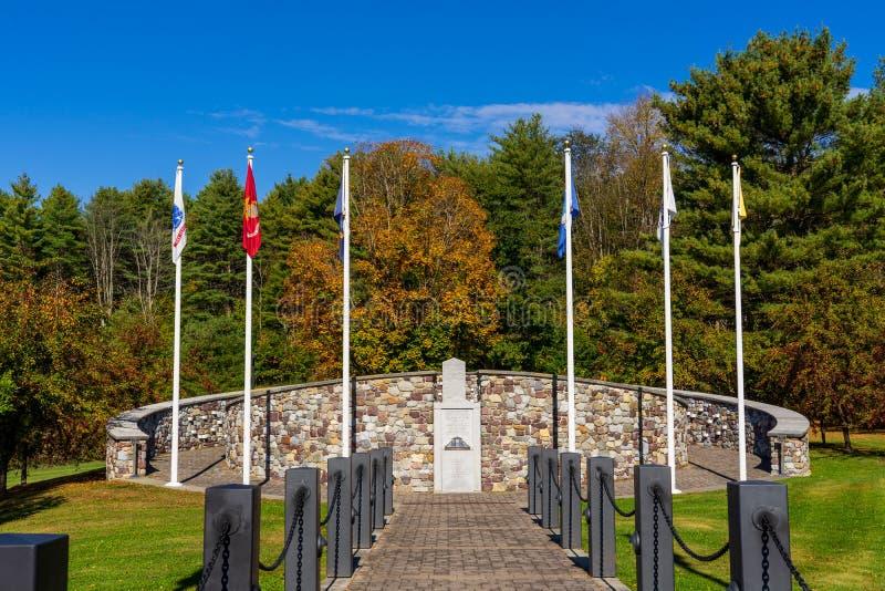 Memorial for American death soldiers in Vietnam stock photos