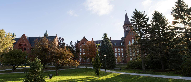 Vermont University Park royalty free stock photography