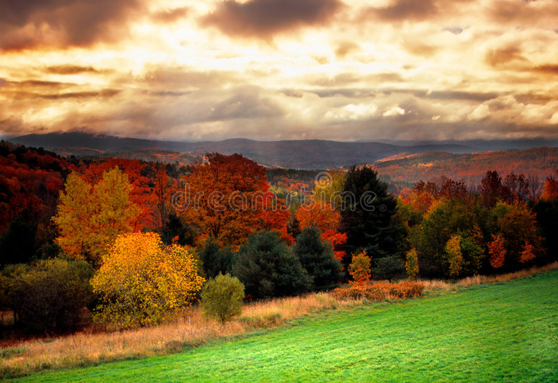 Vermont usa obrazy royalty free