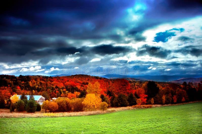 Vermont usa fotografia stock