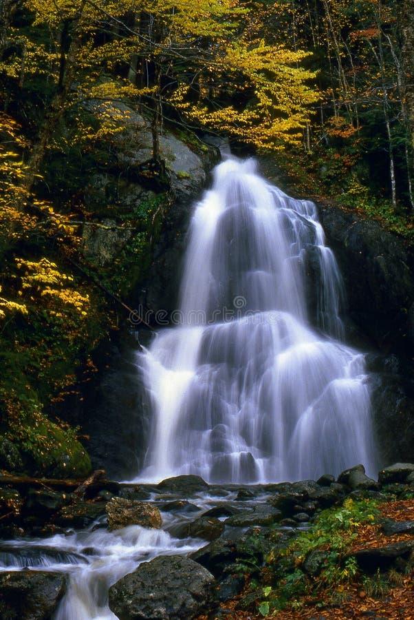 Vermont Waterfall Stock Photo