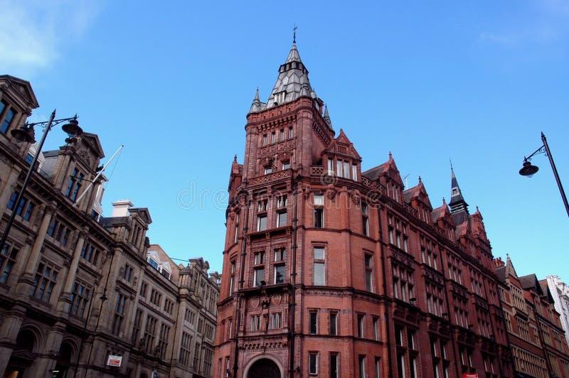 Vernünftiges Gebäude, Nottingham, Großbritannien stockfotografie