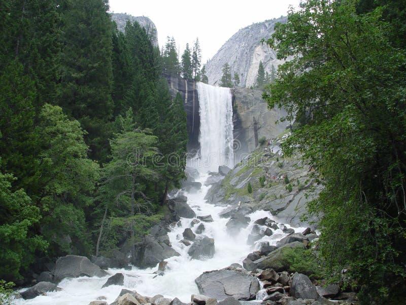 Vernal Falls in Yosemite royalty free stock images