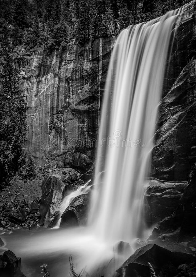 Vernal nedgång Yosemite royaltyfri bild