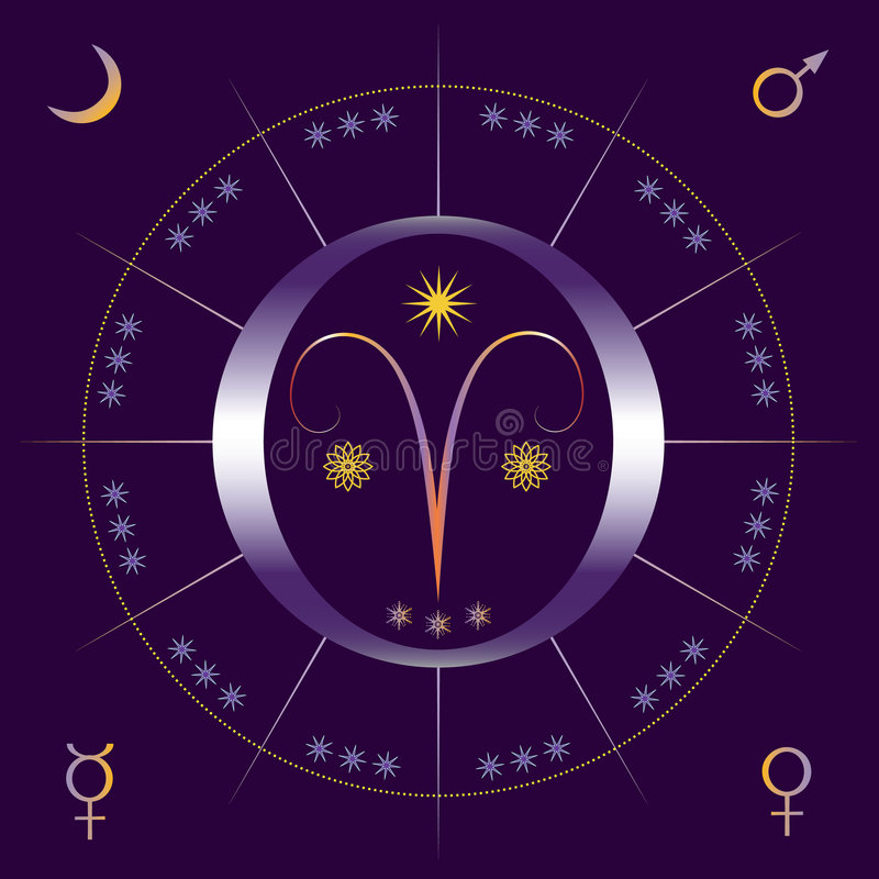 Vernal (spring) equinox stock illustration