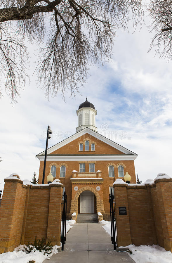 Vernal Utah świątynia obrazy royalty free
