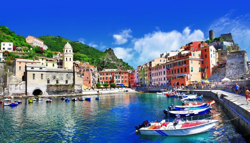 Vernazza, Cinque Terre 免版税库存照片