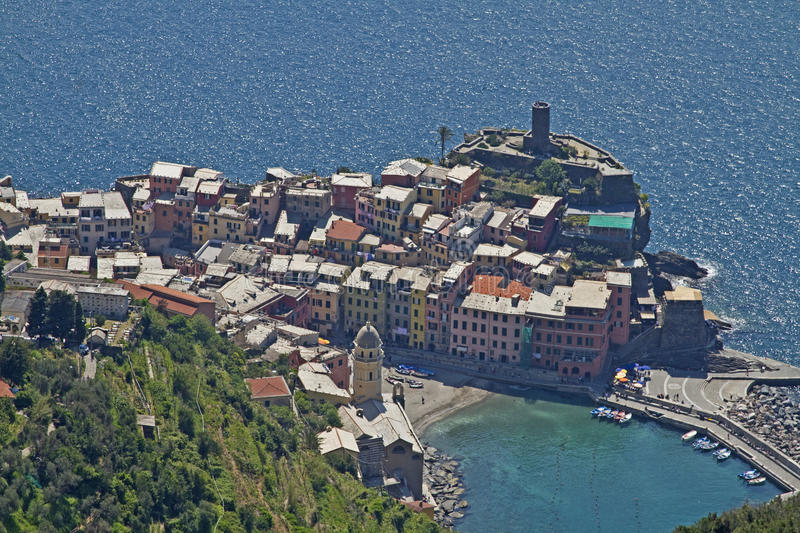 Download Vernazza stock photo. Image of outlook, cinque, country - 21589858