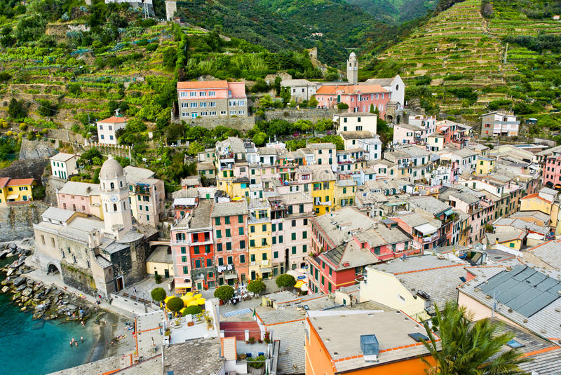 Download Vernazza stock image. Image of architecture, heritage - 21660523