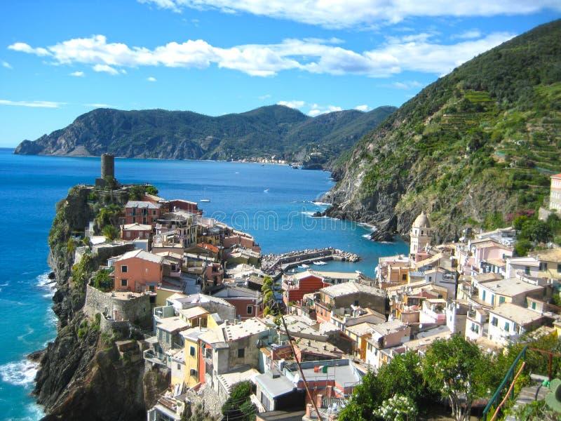 Vernazza Cinque Terra Włochy fotografia stock