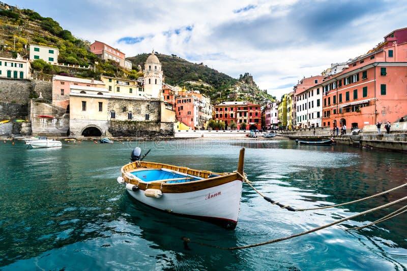 Vernazza, Cinque Terre photo stock