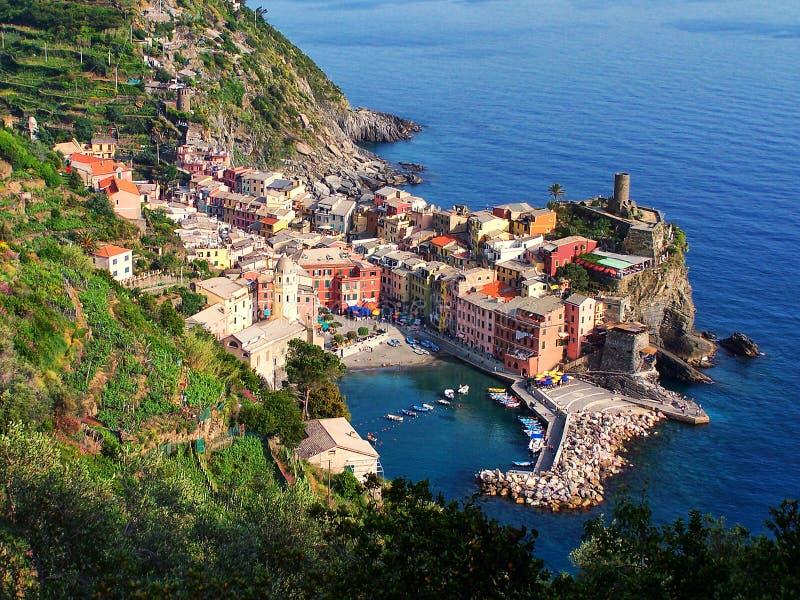 Vernazza, Cinque Terre foto de stock royalty free