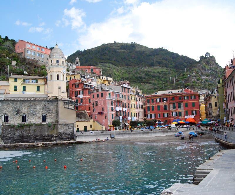 Vernazza-Cinque Terre imagem de stock
