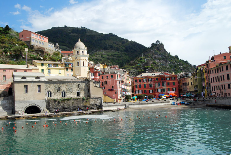 Vernazza-Cinque Terre stock images