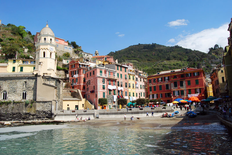 Vernazza-Cinque Terre imagen de archivo