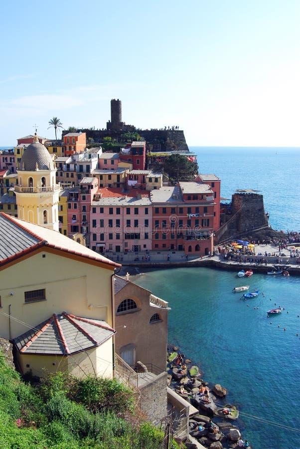 Vernazza-Cinque Terre fotografia de stock royalty free