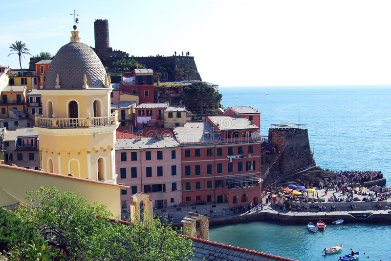 Vernazza-Cinque Terre royalty free stock photography