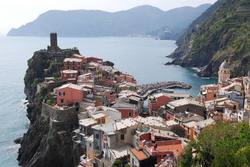 Vernazza-Cinque Terre photos libres de droits