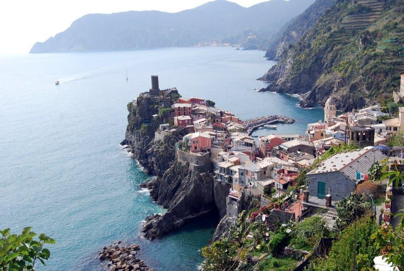 Vernazza-Cinque Terre foto de archivo libre de regalías