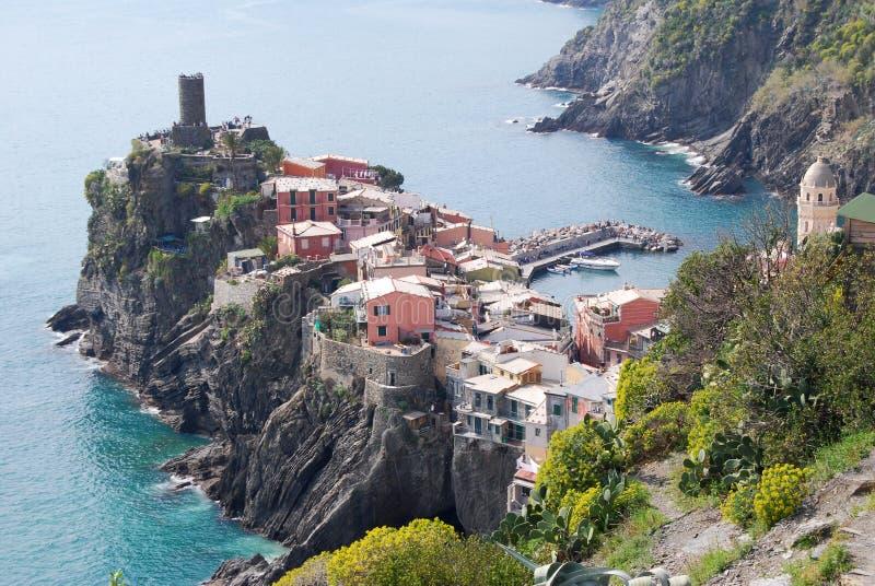 Vernazza - Cinque Terre fotografia de stock