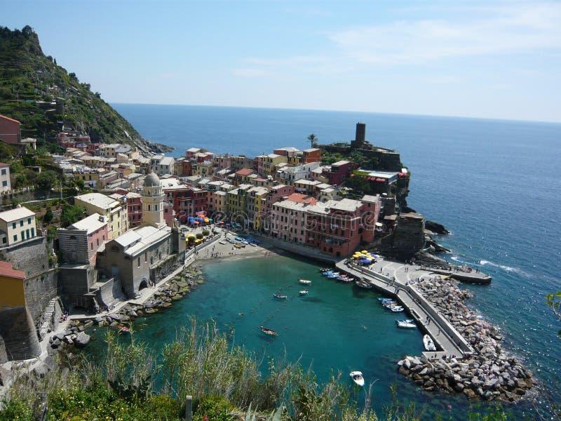 Vernazza, Cinque Terre fotografia stock