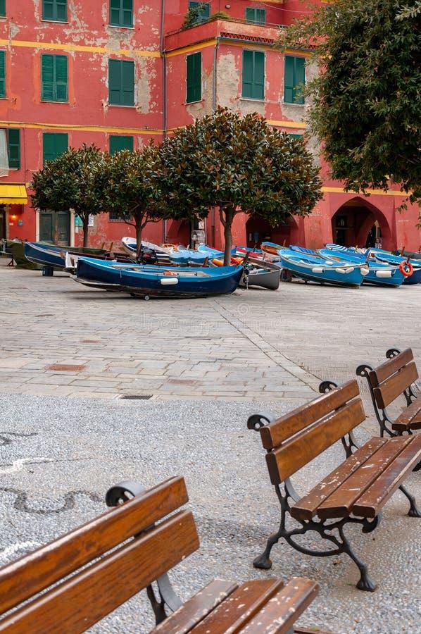 Vernazza in Cinque Terre, Itali? stock foto