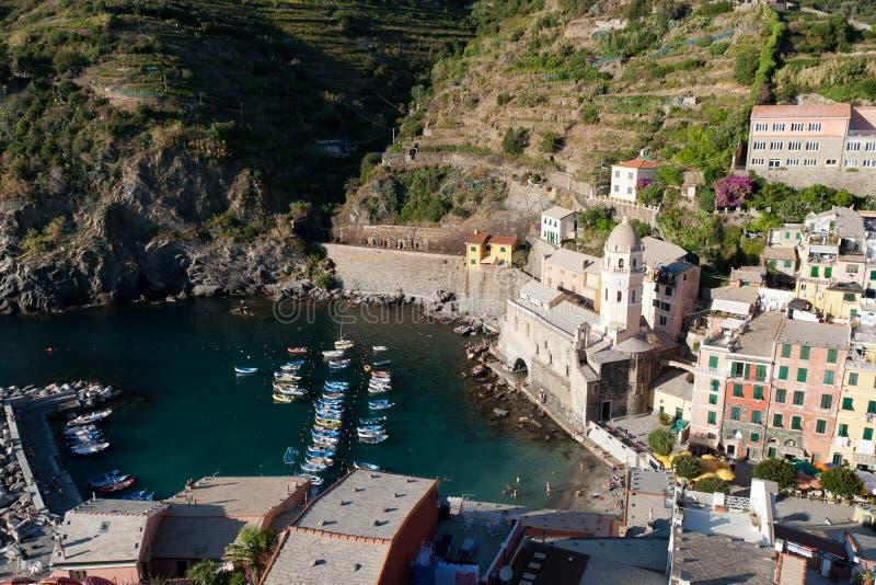 Vernazza, Cinque Terre, Italia fotografia stock libera da diritti