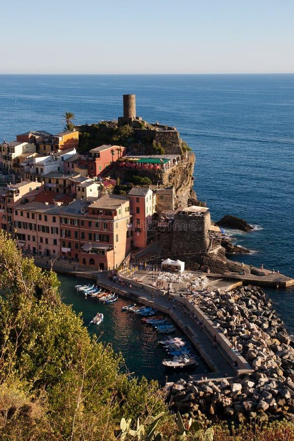 Vernazza, Cinque Terre, Italia immagine stock libera da diritti