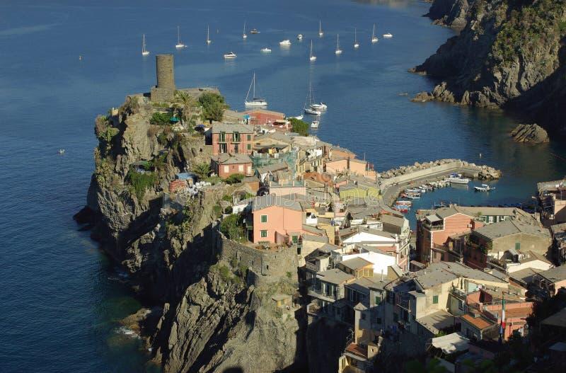 Vernazza, Cinque Terre, Italie images stock