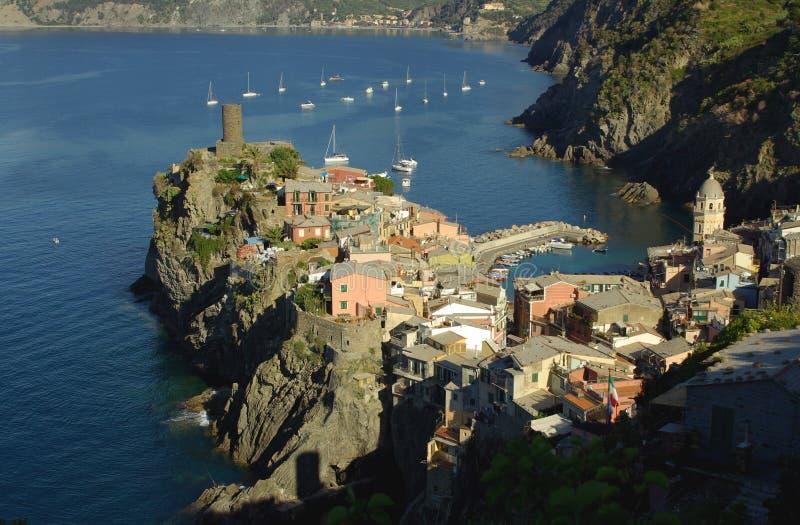 Vernazza, Cinque Terre, Italy royalty free stock photo