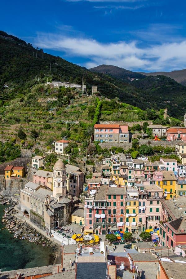 Vernazza, Cinque Terre, Italy fotos de stock