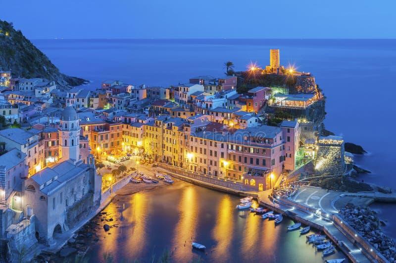 Vernazza, Cinque Terre, Italy imagem de stock