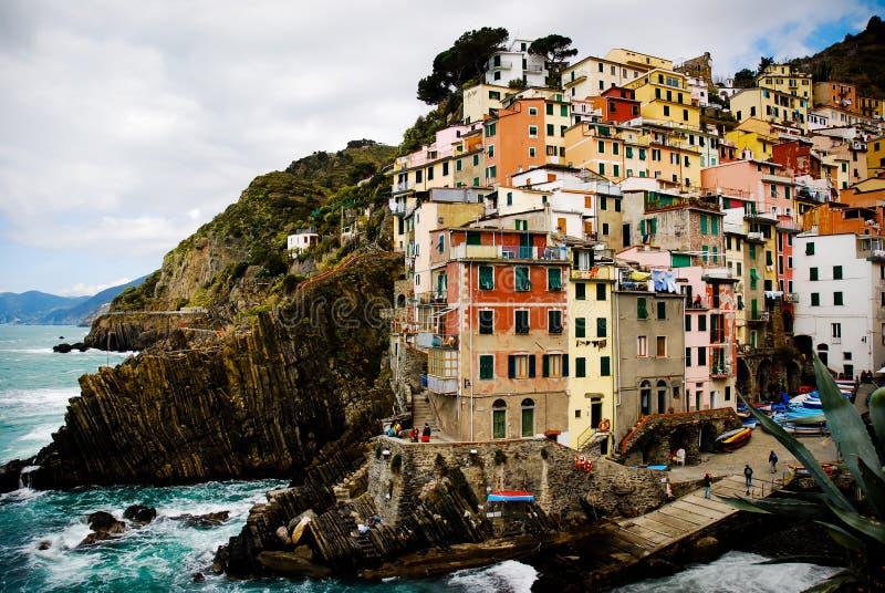 Vernazza cinque terre Liguria Italy obrazy royalty free