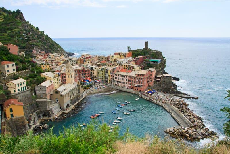 Vernazza, Italia Fotografia Stock Libera da Diritti
