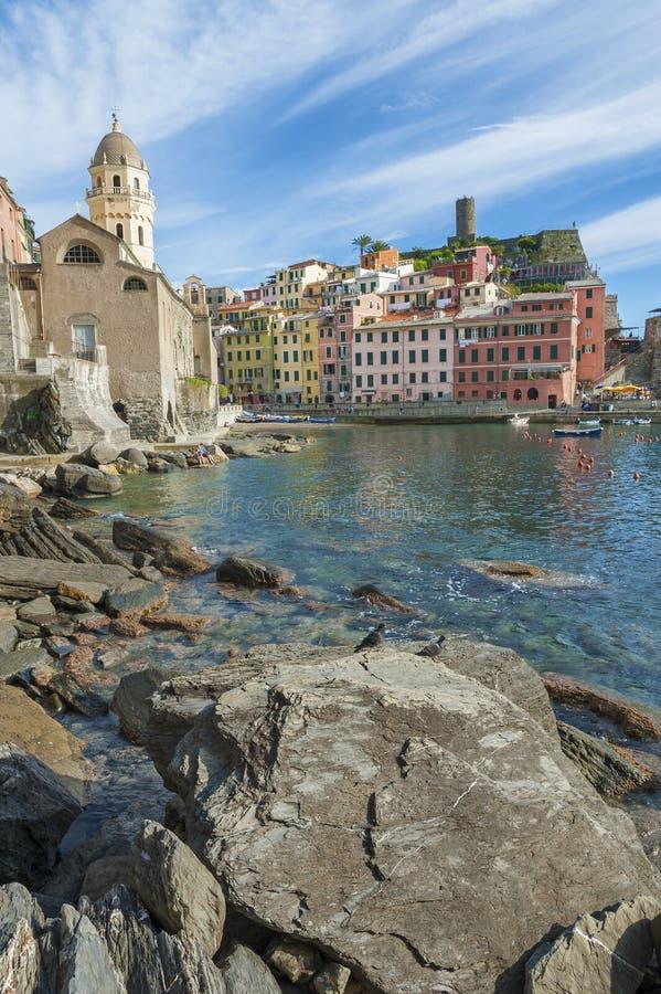 Vernazza, Italien lizenzfreie stockfotografie