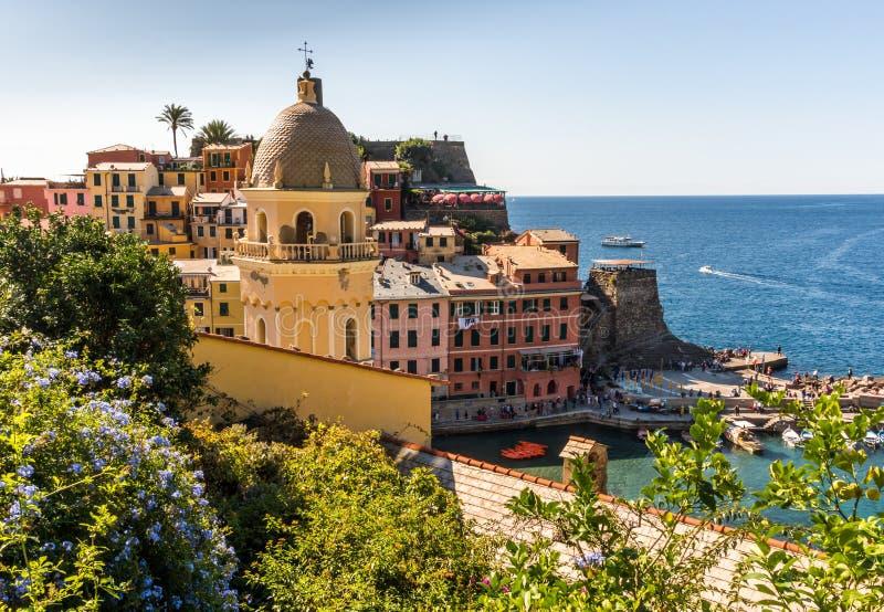 Download Vernazza Village In Cinque Terre, Italy Stock Photo - Image: 83712379