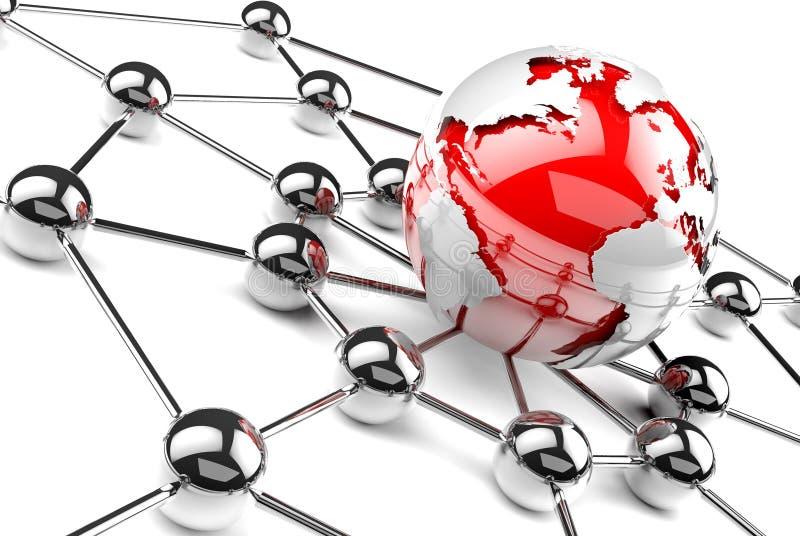 Download Vernetzung stock abbildung. Bild von futuristisch, firma - 26640838