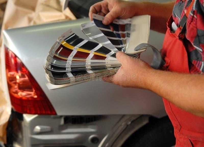 Vernice dell'automobile fotografia stock libera da diritti