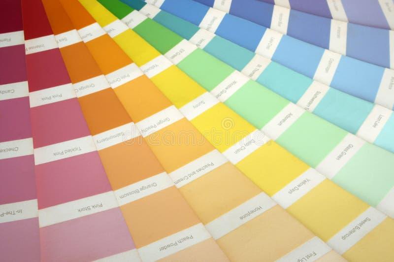 Download Vernici il campione fotografia stock. Immagine di vernice - 214912